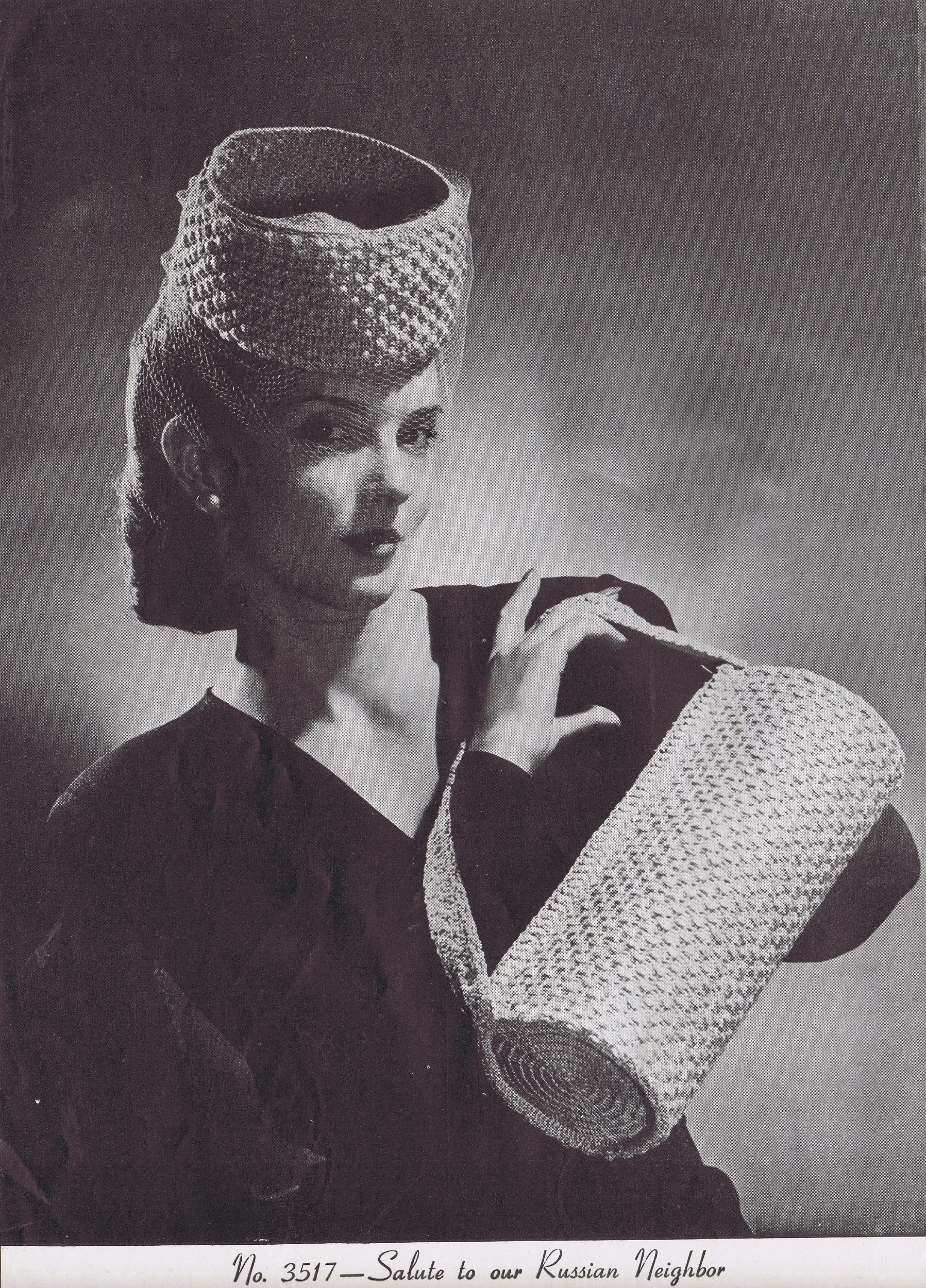 Free Vintage Crochet Hat and Bag Patterns