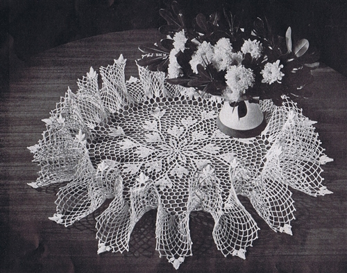 Free Vintage Crochet Doily Pattern Vintage Patterns Dazespast Blog