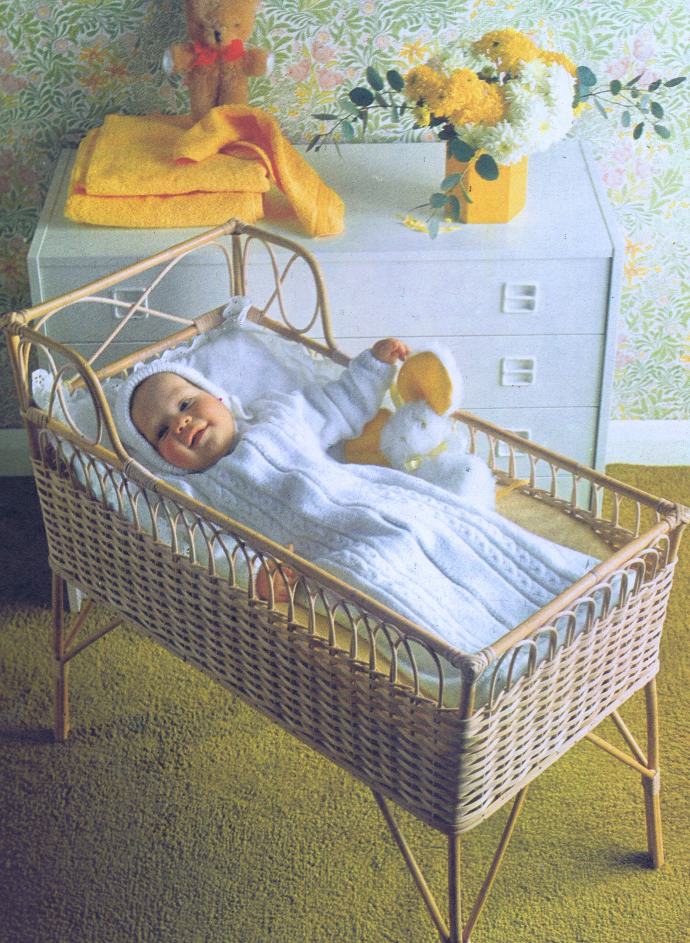 Vintage Knitting Patterns Babies