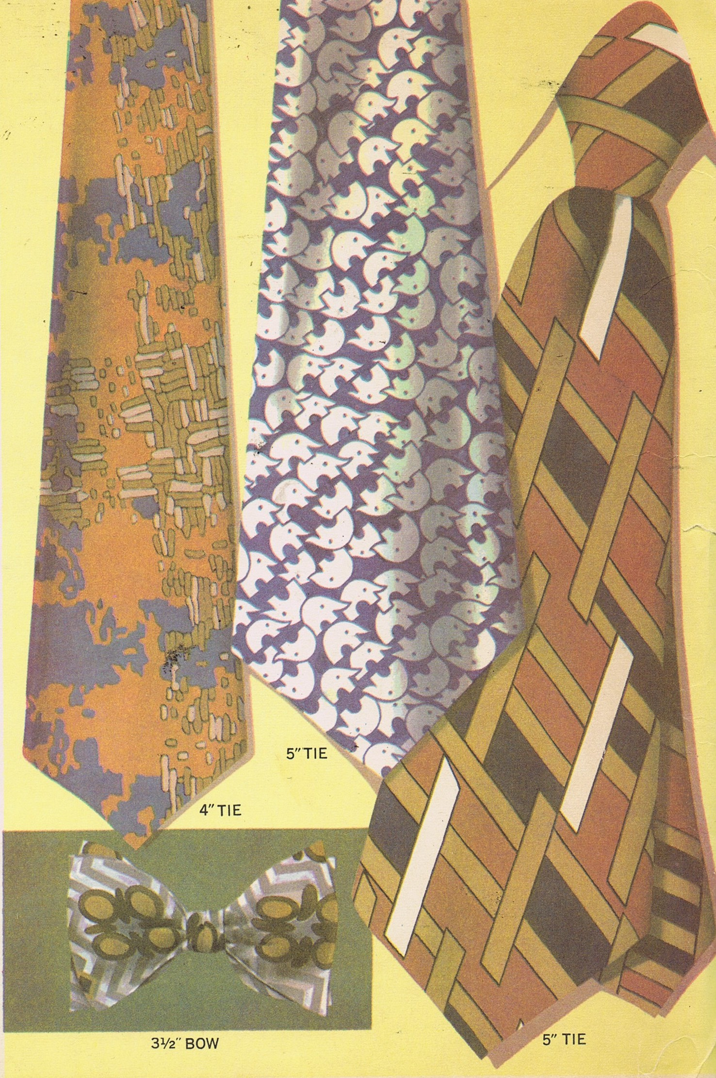 Neck Tie Vintage Sewing Pattern McCalls 2568