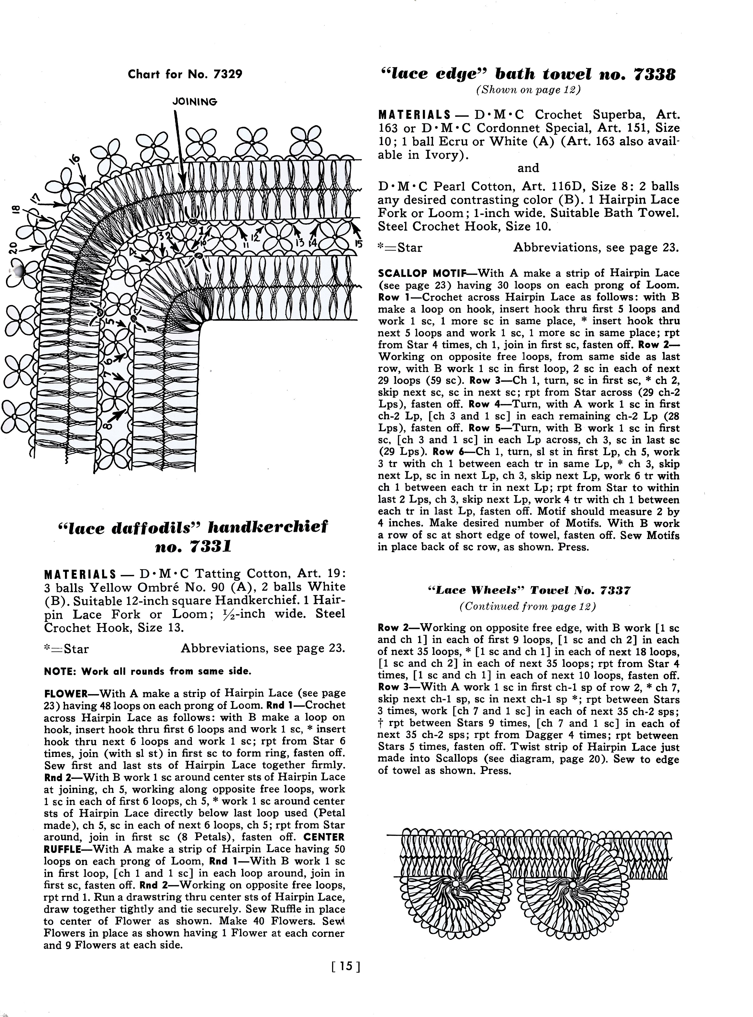 Learn how to write crochet patterns dancox for learn how to create hairpin maltese lace crochet patterns bankloansurffo Image collections