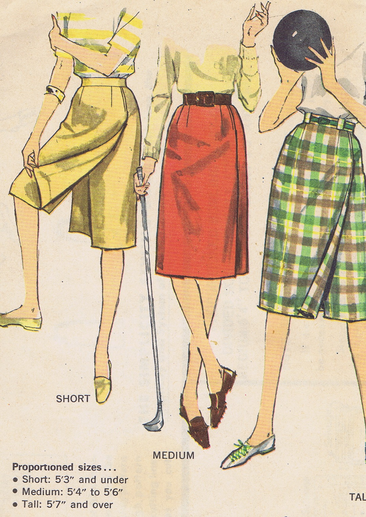 Simplicity 3922 Pant Skirt Pattern