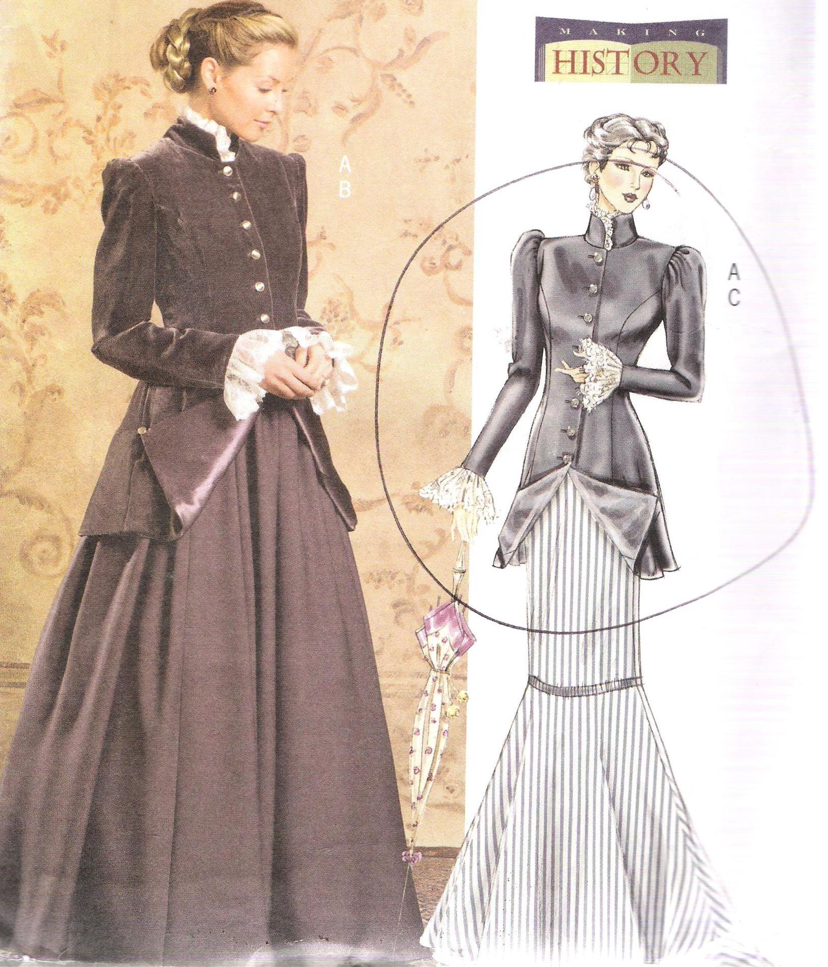 4954 Butterick Historic Pattern