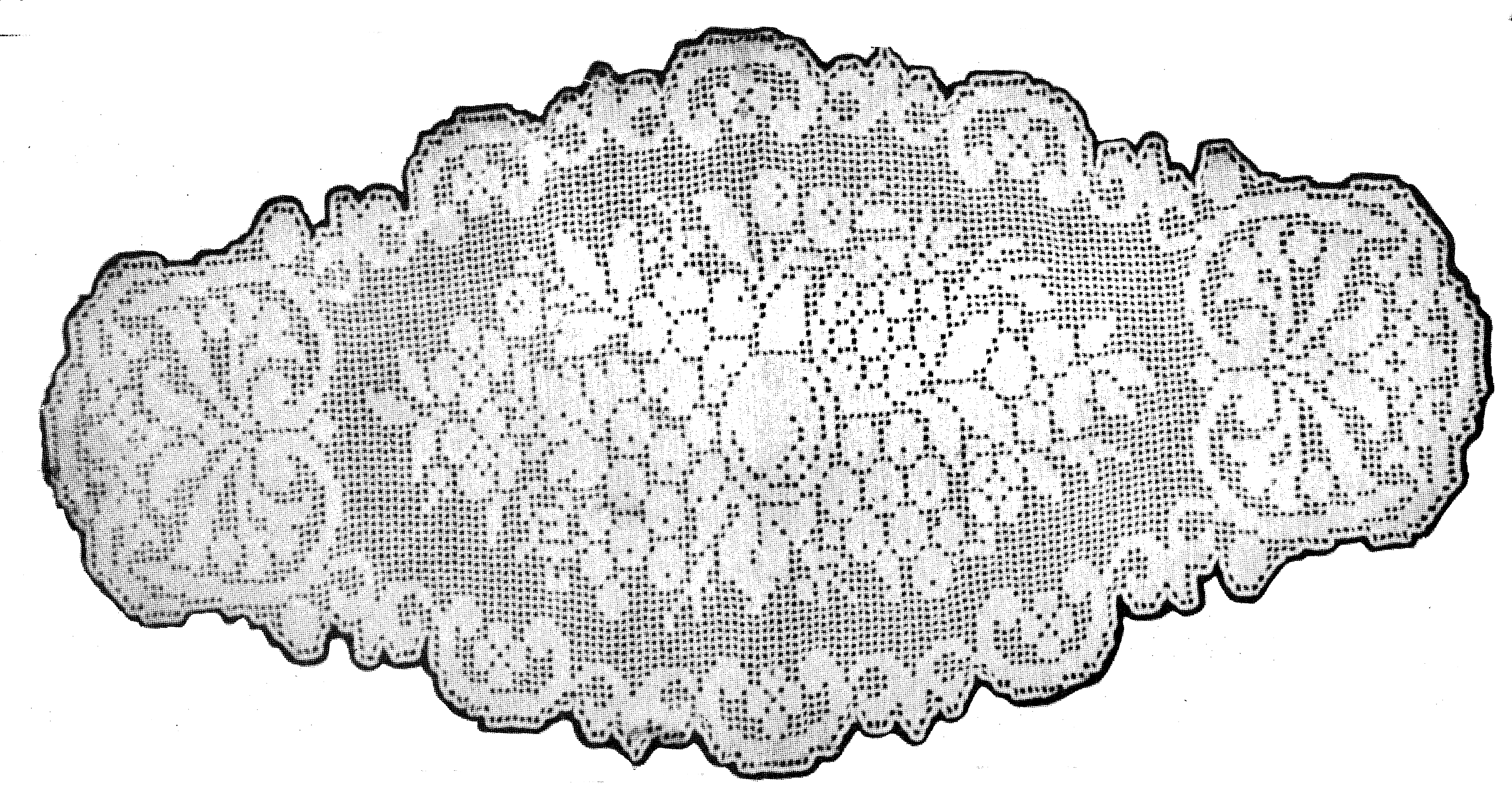 Free Vintage Fruit Crochet Centerpiece