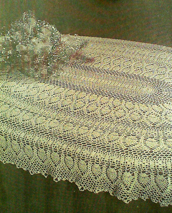 Vintage Pineapple Tablecloth Patterns
