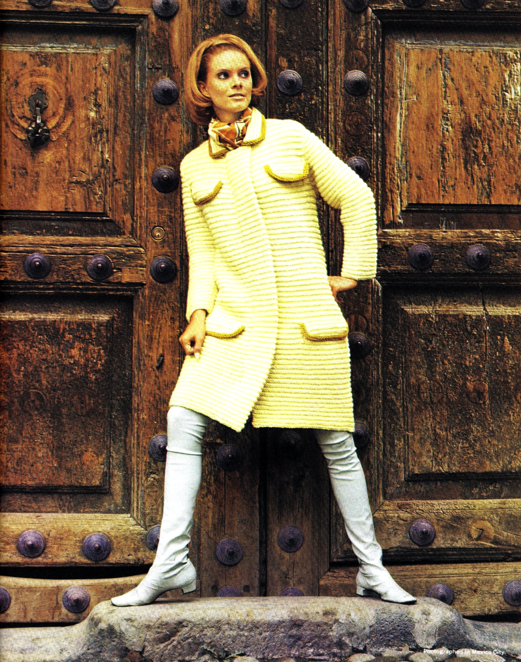 Free Vintage Knitted Coat Pattern Easter Knits